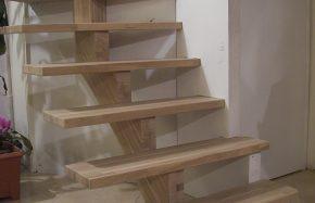 Escalier éclairage led